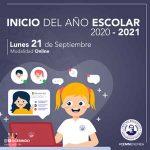 Inicio de Año Escolar 2020-2021