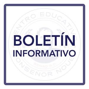 Boletín Inicio Año Escolar 2020-2021